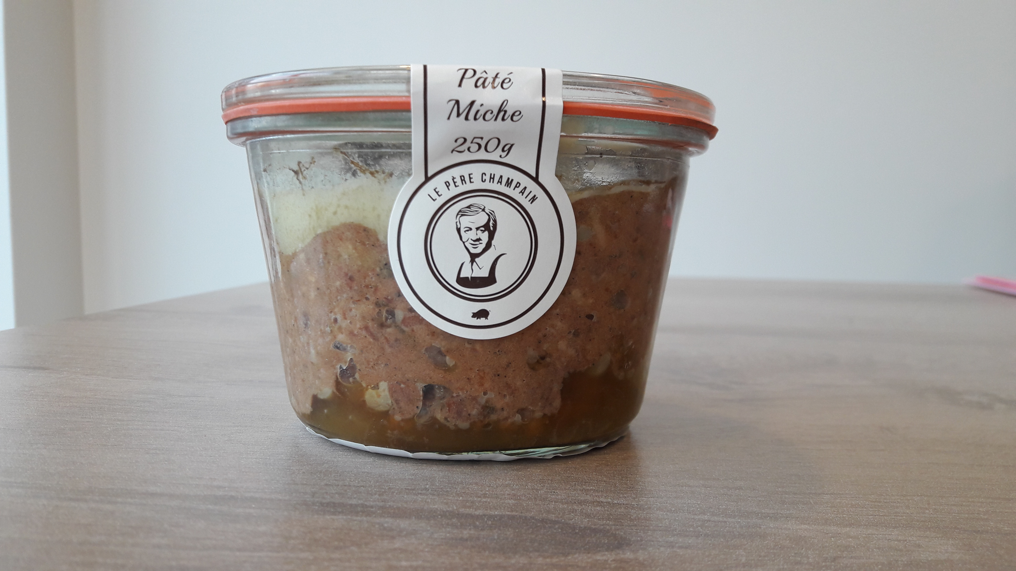 Pâté Miche 250 g Tours