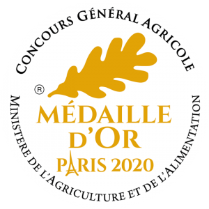 Médaille d'or paris 2020